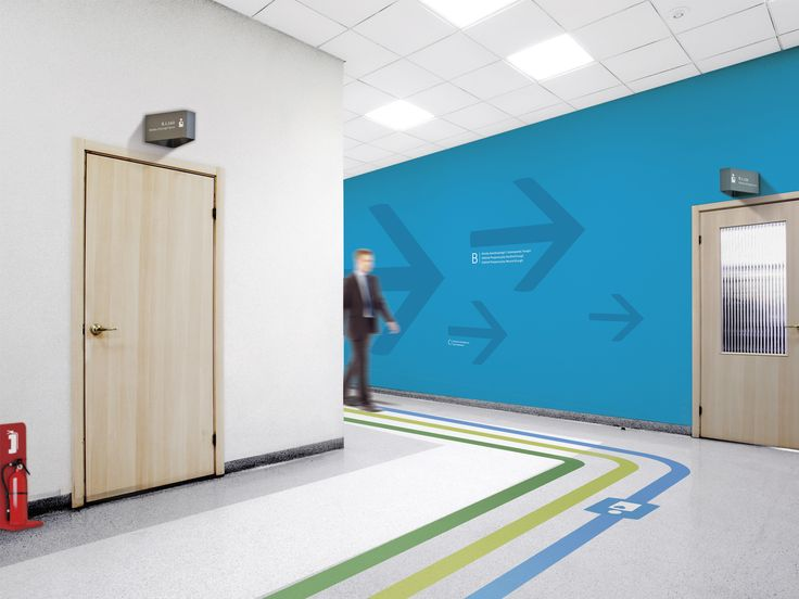 Hospital wayfinding | Studio Fuerte