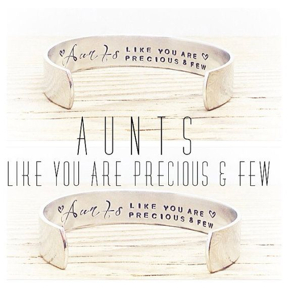 Aunt Gifts Gifts for Her Auntie Gift by GlamAndCoJewellery