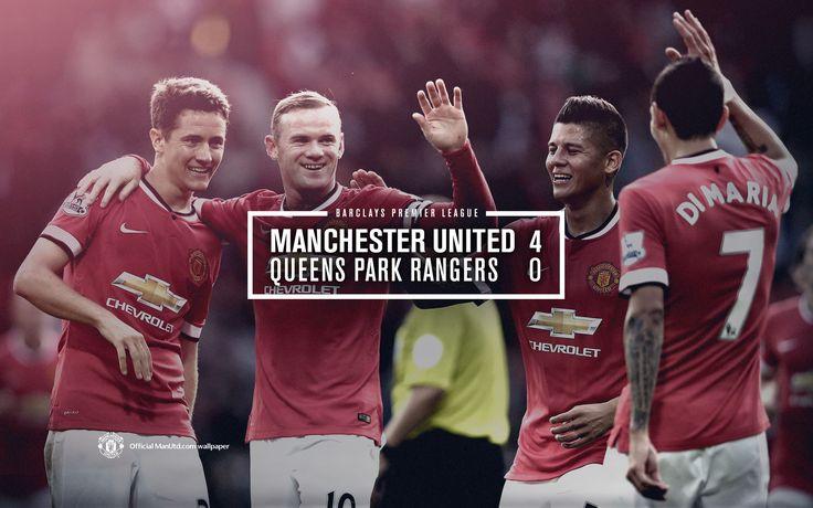 Manchester United Vs QPR 2014-2015 season
