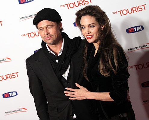 BRAD PITT & ANGELINA JOLIE.                  It's almost hard to imagine that the word Brangelina didn't always exist. To date, the two have not married, but have six children, three of whom they adopted.