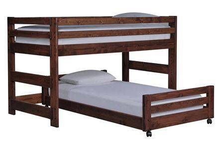 Sedona Junior Loft Bed W/Twin Caster Bed - Signature
