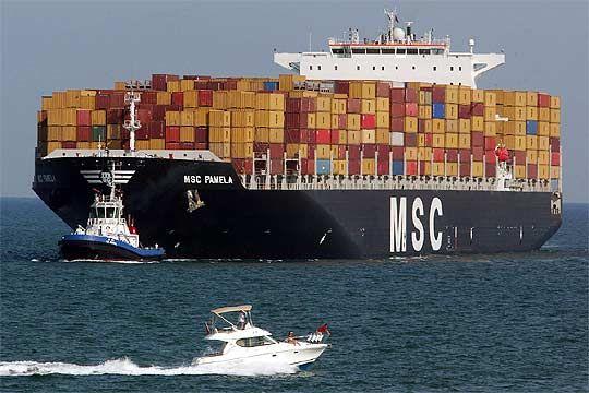 Medios de transporte marítimo - Porta Contenedores