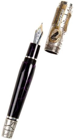 Krone Edgar Allan Poe Limited Edition Fountain Pen. Quoth the Critia: Nevermore.