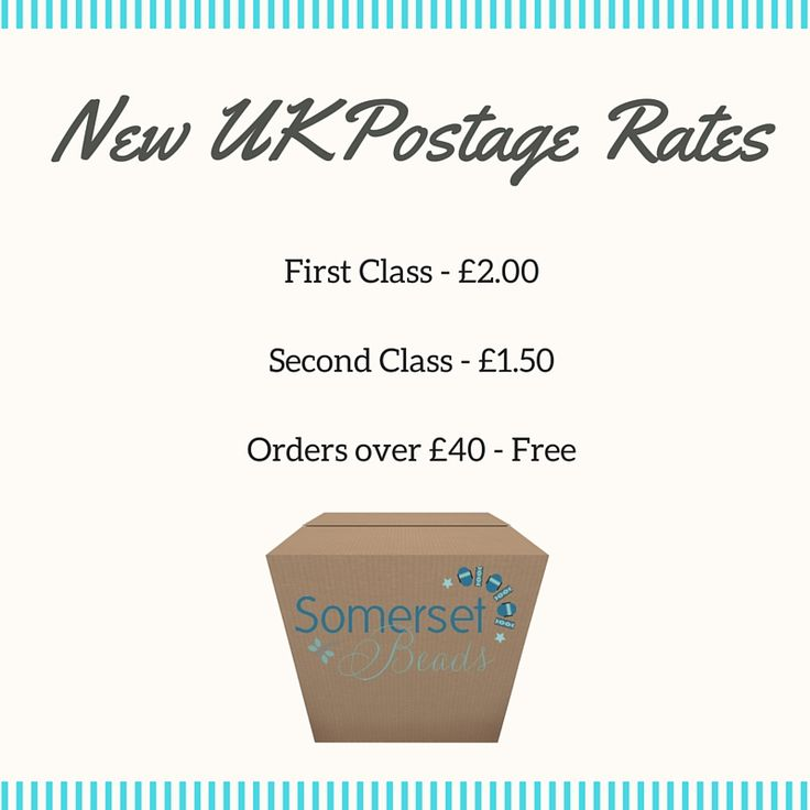 Hello, It's been a while. I really must try harder. I just wanted to let you know we have changed our UK Postage Rate to a flat rate, easier, system.  It will mean you will know exactly how much postage you will pay from the moment you land on our website. I would love to hear what you think Best wishes  Karen x