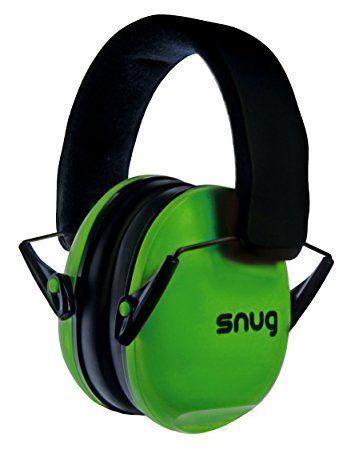 Snug Safe n Sounds Kinder Ohrenschützer / Gehörschutz - 5 JAHRE GARANTIE - (Grün)