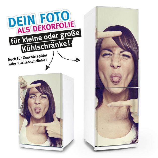 Möbeltattoos - Großer Kühlschrank-Aufkleber EIGENES FOTO - ein Designerstück von posterdeluxe bei DaWanda