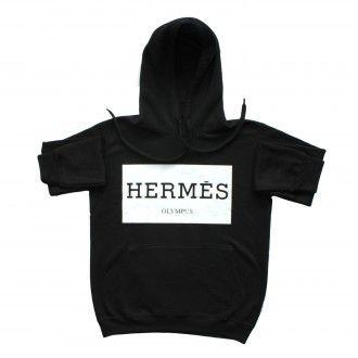 Hermes Olympus Black Unisex Hoody