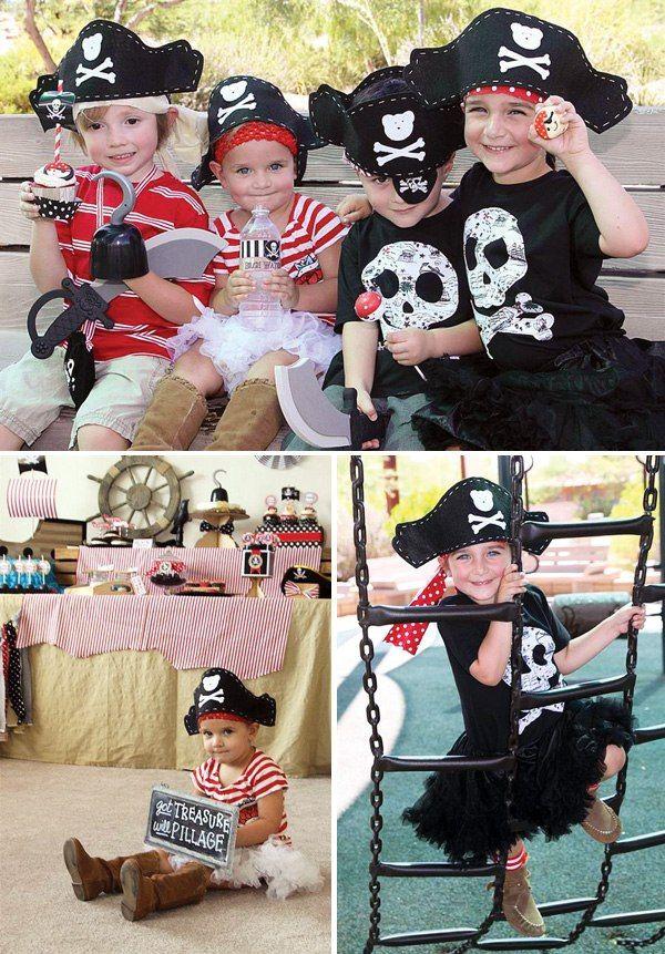 Пиратский день рождения!   Детский праздник своими руками