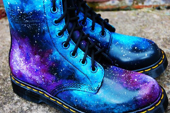 Galaxy Cosmic Gothic Print Doc Dr Martens