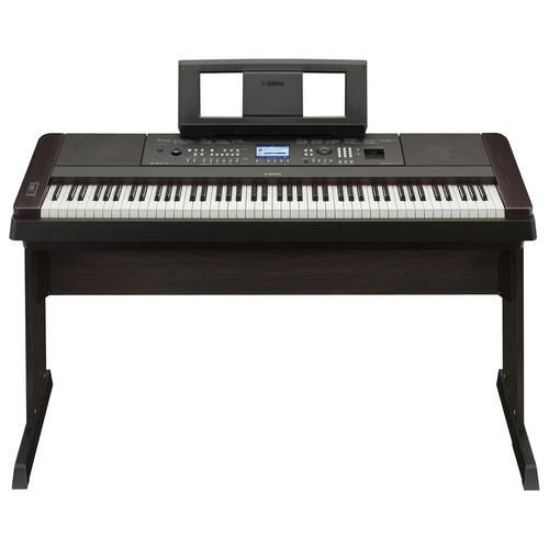 Yamaha - Full-Size Keyboard with 88 Piano-Style Touch-Sensitive and Weighted Keys - Larger Front