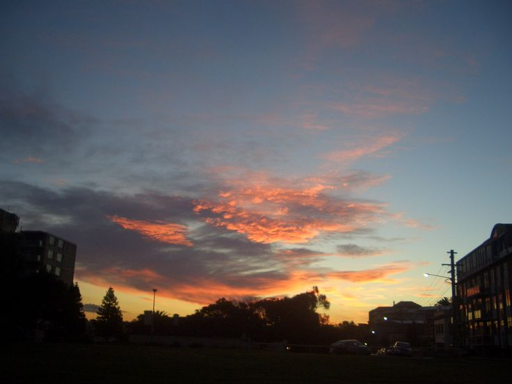 Cogee sunset