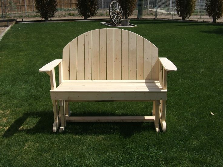 1000 Images About Glider Bench Plans On Pinterest