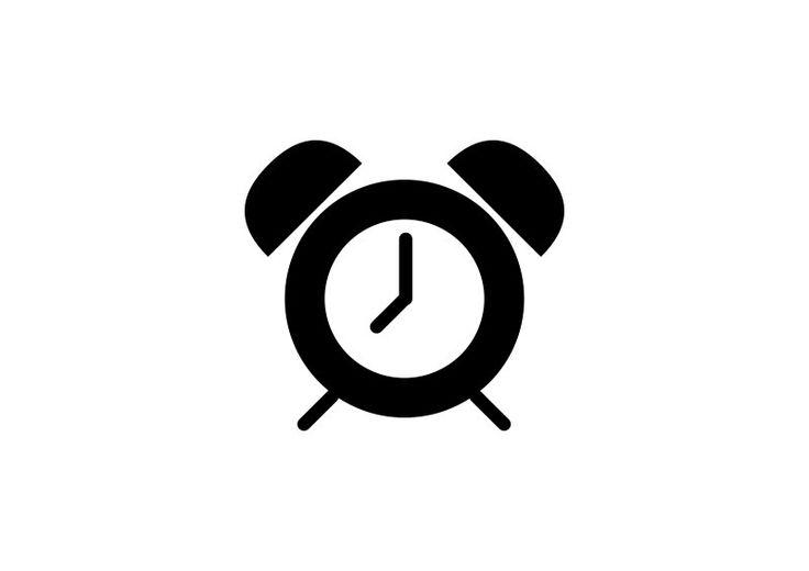 Simple Alarm Clock Icon