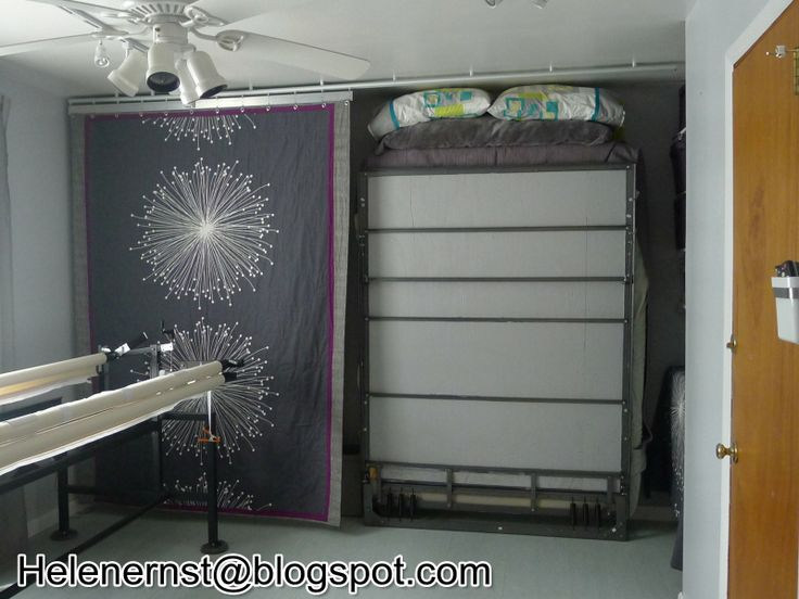 How to hide a murphy bed sewing studio pinterest murphy bed - Pinterest murphy bed ...
