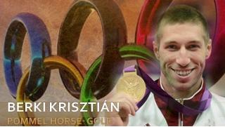 Berki Krisztián - Hungarian Gold medalist in men's pommel horse at Olympic Games London 2012   www.edelland.com