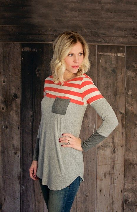 Striped Pocket Tunic! {Jane Deals}