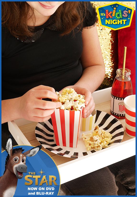 Make your own Kids Movie night with The Star! Get all your essentials at Walmart today! #TheStarMovie