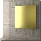Essential design and good thermal yield, these are the main feature of the Wall.  Available both vertical, horizontal and in square versions.