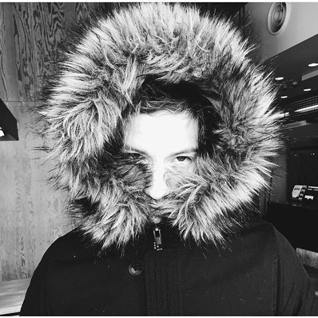 ITS A GODDAMN PARKA HOOD TAKE IT OFF JOSH YOU'RE KILLIN ME