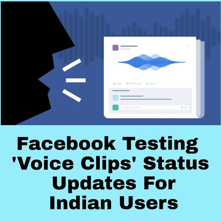 #facebook #voicemessages #voicestatus #features #india #users #technology #updates #voiceclips #innovation #testing #developers #connect #viral #startup #startupindia #follow