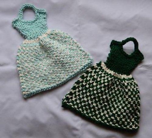 Ravelry: Let's Visit Switzerland Dress Dishcloth pattern by Debbie Trainor
