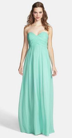 Mint bridesmaid dresses! <3