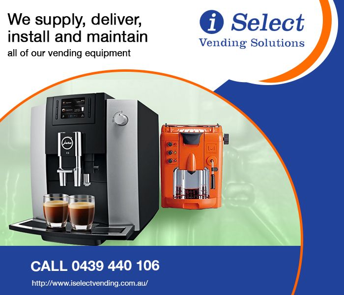 Coffee vending machines from i Select Vending Solutions, Sydney are considered to be very efficient. Easy to clean and maintain, these machines are fully automatic and can easily be installed at any given venue. Our packages include installation, servicing and repair charges, along with filling of ingredients. Call today to know more about us.