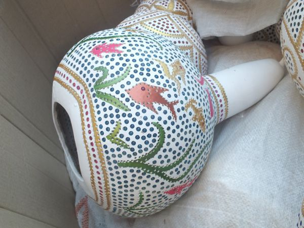 1000+ images about Gourd Art on Pinterest Folk art, Gourd crafts and Adana