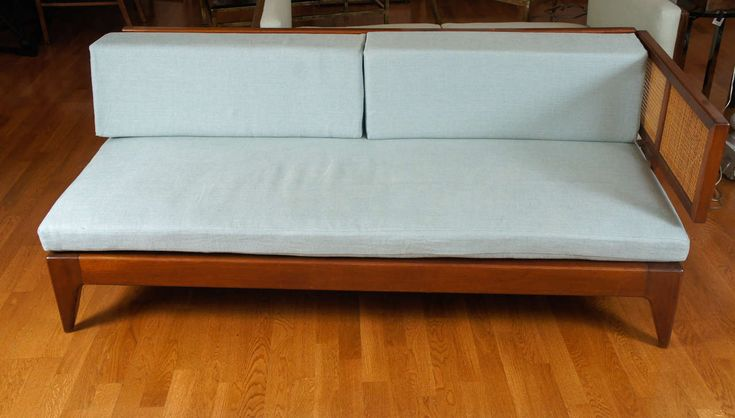 Danish Midcentury Daybeds | From a unique collection of antique and modern day beds at https://www.1stdibs.com/furniture/seating/day-beds/