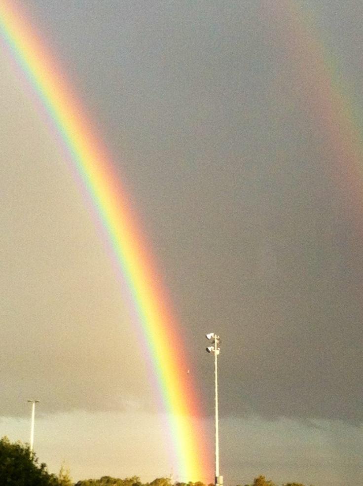 Evenning rainbow