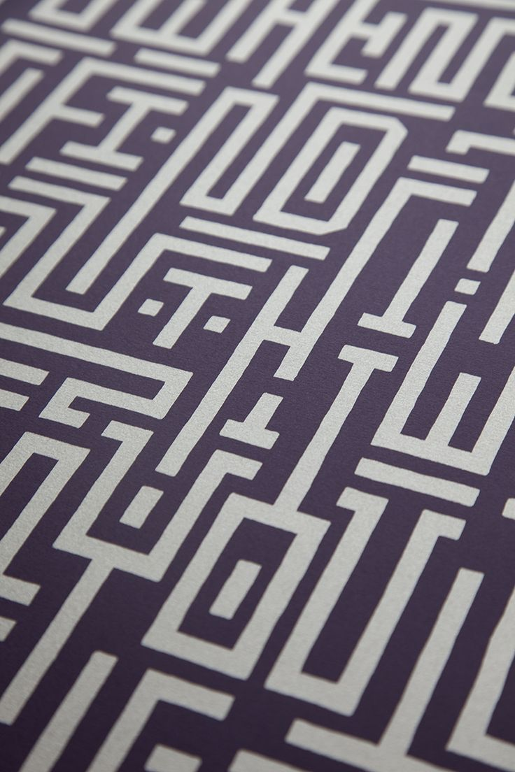 Wild Ilk Labyrinth Poster Looking Arabic kufic inspired to me