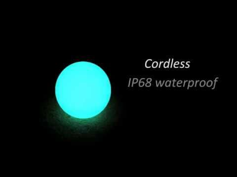 LED sphere IP68 swimming pool LED ball lighting