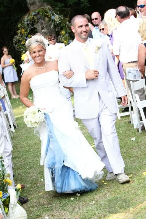 Wedding Dresses With Color Underneath 8