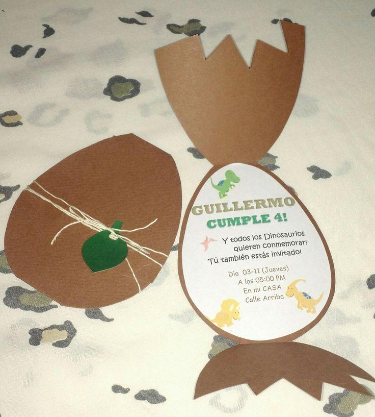 Tarjeta de Cumpleaños Huevo de Dinosaurio Feliz de complacer a mi Sobri Hermoso