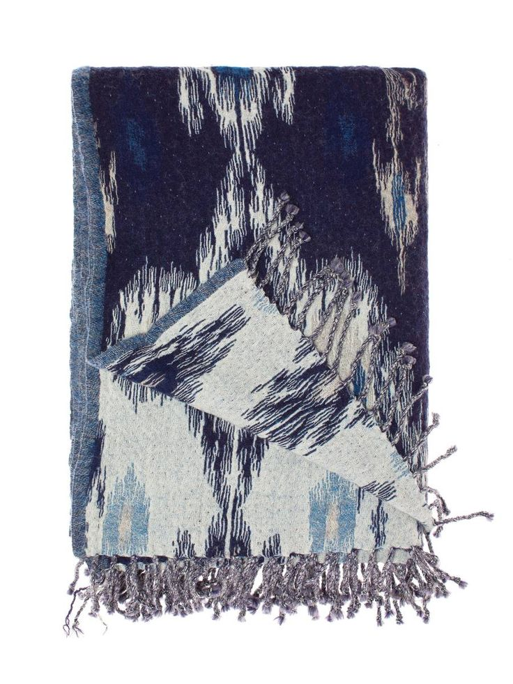 Linen House Ikat Throw, available at Forty Winks