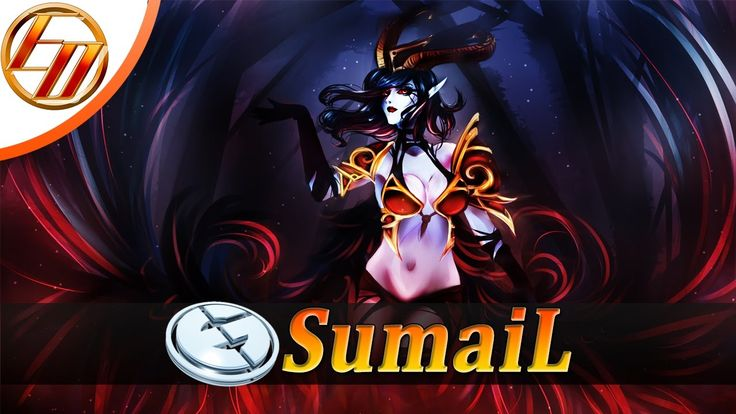 SumaiL  Queen Of Pain  Dota 2 Pro Gameplay | Evil Geniuses