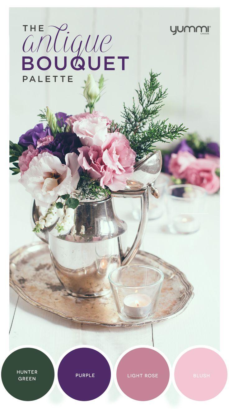 The Antique Bouquet Palette! Yummi Color Inspirations. Shop Now at…
