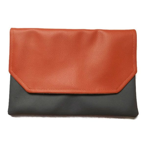Bridesmaid Clutch, Vegan Clutch, Crossbody Bag, Wedding Gift,... (7.040 HUF) ❤ liked on Polyvore featuring bags, handbags and clutches