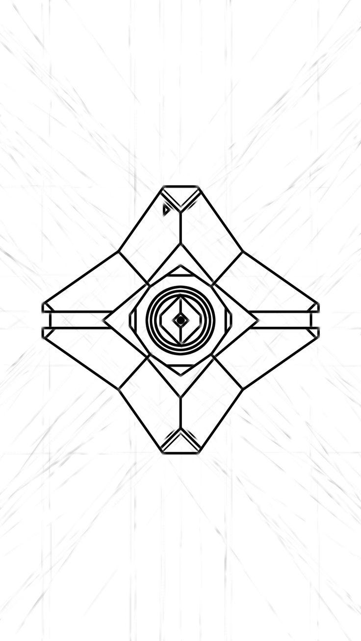 Destiny Ghost Doodle Wallpaper: Work in Progress - Album on Imgur
