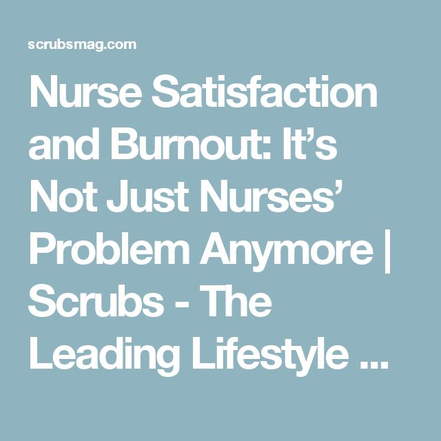 how to fix burnout in nursing