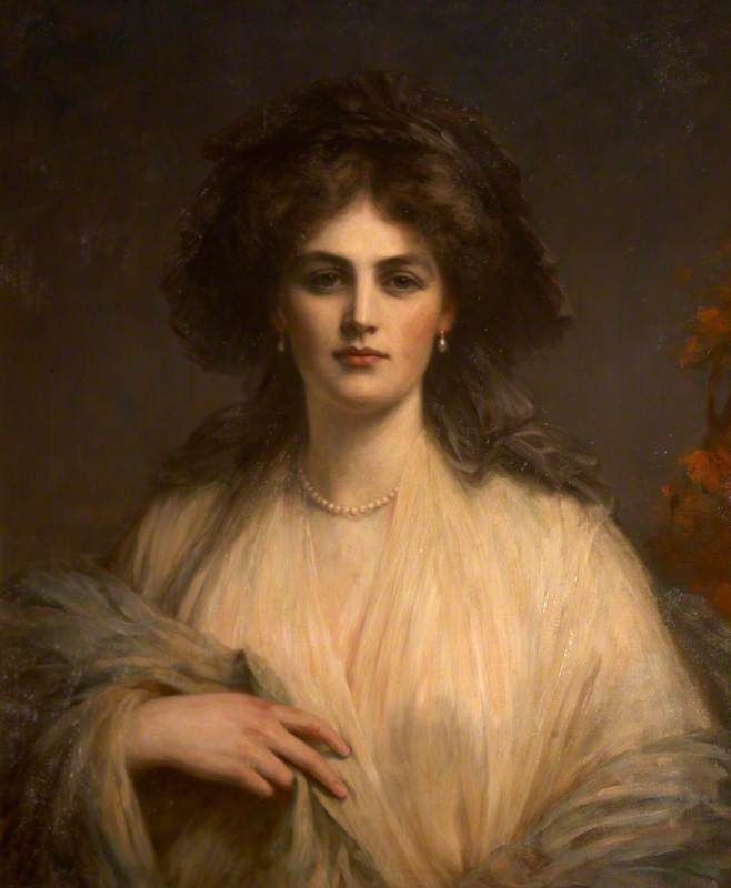 Lady Beatrice Butler (1876–1952), Lady Pole-Carew by Ellis William Roberts Oil on canvas, 75 x 60 cm Collection: National Trust