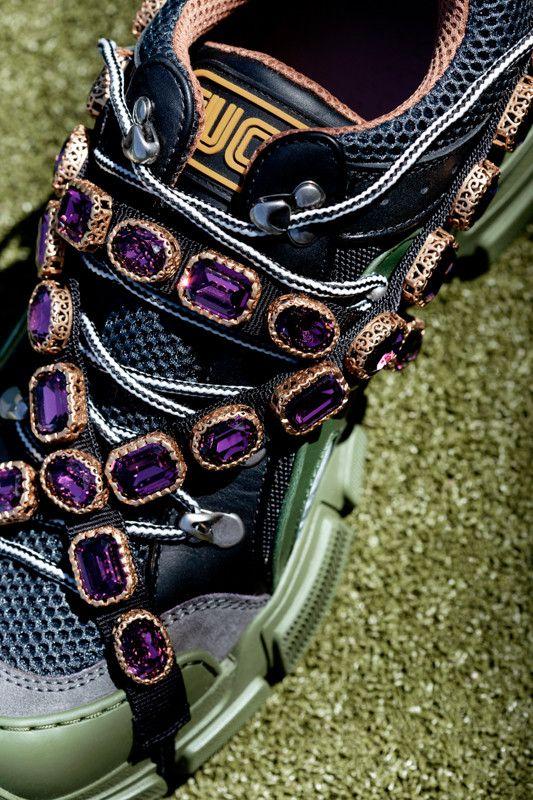 Gucci s Chunky SEGA Sneaker Feature Removable Jewel Details 4e6e04c377d1