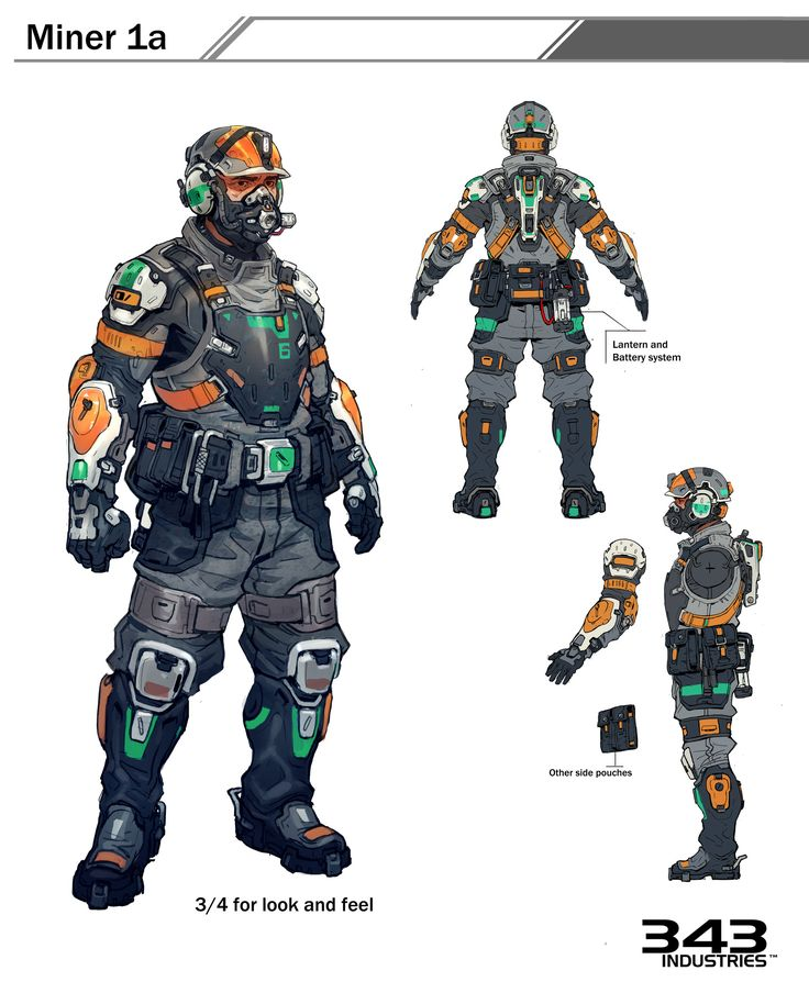 Say what you will about Halo 5 overall, but if there's one thing Microsoft and 343 did not screw around on, it was putting together a roster of very talented concept artists to work on the game.
