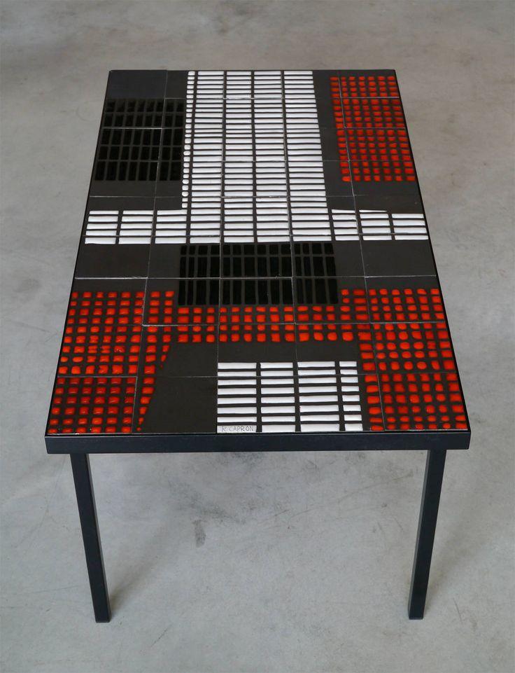 Sofa Table by Roger Capron, circa 1950 5