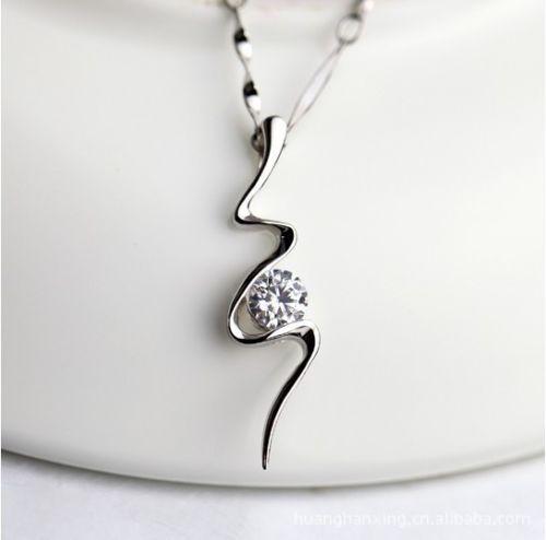 Latest Women Elegant Clear Crystal Special Snake Shape Pendant Fashion Necklace | eBay