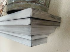 Crown Molding Floating Mantel Shelf, Distressed, Any Size. by DERRICKSTIMBER on Etsy https://www.etsy.com/listing/199381844/crown-molding-floating-mantel-shelf