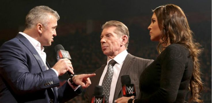 The night after WWE Fastlane 2016, Vince McMahon used WWE Raw to bring back Shane McMahon, announce two huge matches for WrestleMania 32, and allow Triple H to demonstrate his dominance by delivering a Pedigree on the steel steps to an already-bloodied Roman Reigns much to the delight of the WWE Universe in attendance at the Joe Louis Arena in Detroit. It s OFFICIAL! #ShaneMcMahon vs. #Undertaker inside #HellInACell at @WrestleMania! #RAW pic.twi