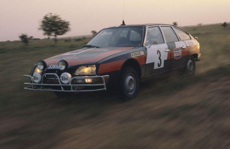 Citroen CX, 1977 Senegal Rally