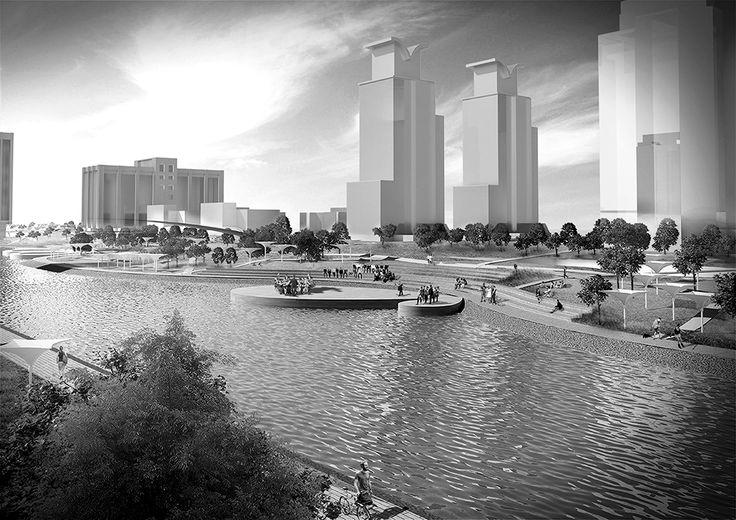 urban park, architecture, shanghai