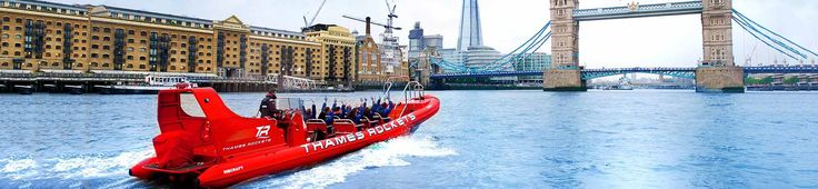 37% off Thames Rockets Speedboat Adventure Down The River Thames. Limited Availability
